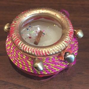 Other - Indian Bohemian candle